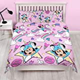Set copripiumino e federa Minnie Mouse Unicorns.