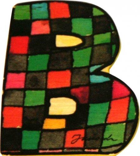 Janosch Buchstaben Holzbuchstaben B ca. 6cm