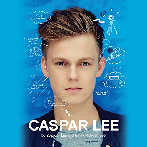 Caspar Lee audiobook cover art