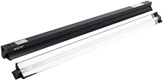REPTI ZOO T5 HO UVB Lighting Combo Kit, Terrarium Hood Comes with Desert 10.0 UVB T5 Lamp (39W)