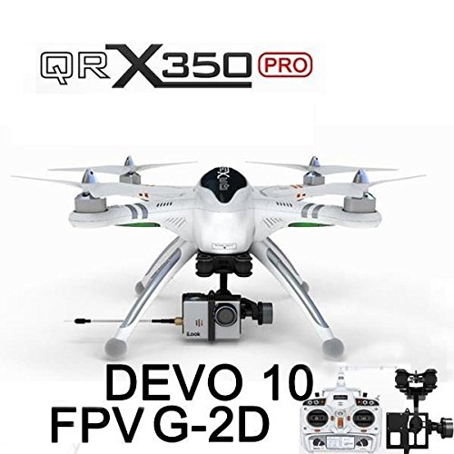 Xiangtat Walkera QR X350 Pro FPV GPS RC Quadcopter Drone With Devo 10 G-2D camera gimbal For Gopro 3