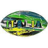 Mikado Ballon Mini Rugby Série Street Italie Multicolore, Taille 2, Adultes NFL