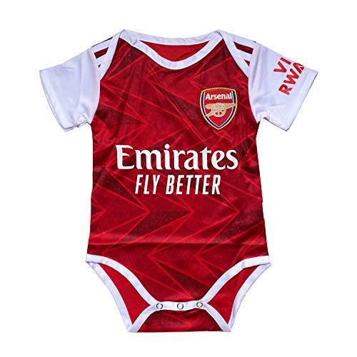 ODOSAN Football Club Baby Bodysuit Comfort Jumpsuit for 0-18 Months Infant and Toddler New Season (Arsenal 1, 9-18 Months Baby)