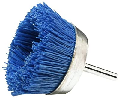 2- Pack Dico 541-786-21/2 Nyalox Cup Brush 21/2-Inch Blue 240 Grit ...