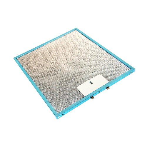 Filtro de grasa de metal para campana extractora Smeg 053410339