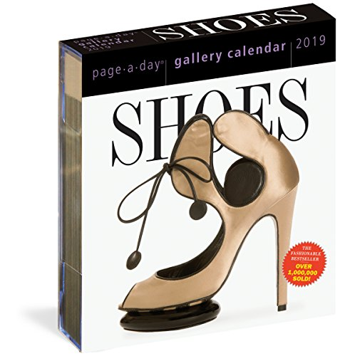 Shoes 2019. Page-A-Day Gallery Calendar