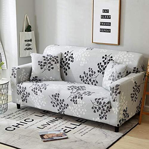 RKZM hoekbank omvat elastische stretch print bankhoes hoezen past op alle bankbeschermers voor de woonkamer 190-230 cm