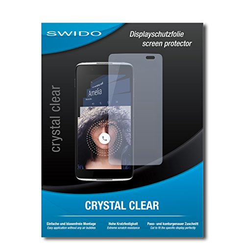 2 x SWIDO® Protector de pantalla Alcatel Idol 4S Windows Protectores de pantalla de película