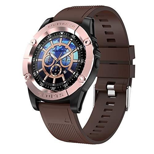 Smartwatch,Reloj Inteligentes Deportivo Fitness Tracker Hombre Mujer,Impermeable 5ATM Pulsera de Actividad Podómetro Monitor de Sueño Smartwatch para Android iOS Huawei Samsung Xiaomi