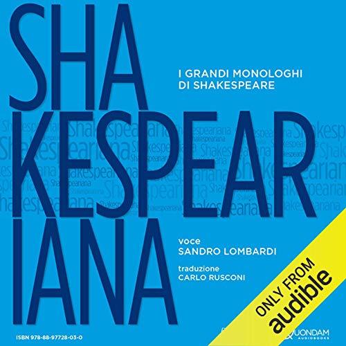 Shakespeariana audiobook cover art
