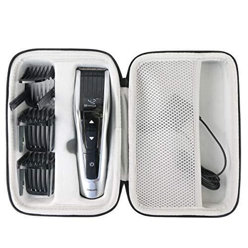 Khanka Hart Tasche Case Für Philips QC5115/15 HC7650/15 HC7460/15 HC5440/16 HC9450/20 HC5630/15 series 3000 5000 7000 9000 und mehr Serie Haarschneider.(nur tasche)
