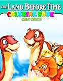 Candy Crushy - The Land Before Time Coloring Book: Amazing The Land Before Time Adult Coloring Books Colouring Page