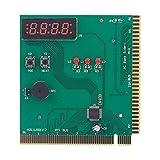 SovelyBoFan 4-Digit Probador De DiagnóStico De la Placa Base para El DiagnóStico del Ordenador del Analizador De PC Pc para la Tarjeta De Autoprueba del Poder De Pci Isa