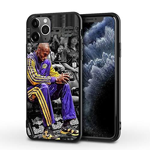 DASHUAI La Caja del Teléfono Móvil Protege El Baloncesto De La Cubierta A Prueba De Golpes De La Carcasa De Plástico del Teléfono,iPhone 11Pro
