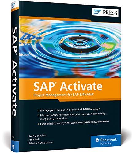 SAP Activate: Project Management for SAP S/4HANA (SAP PRESS: englisch)