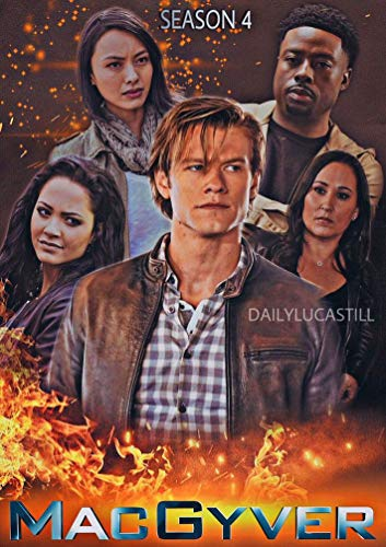 MacGyver Season 4 60cm x 85cm 24inch x 34inch TV Show Waterproof Poster *Anti-Fading* 2WP/206085690