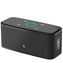 Capacitive Touch Control: Easy-to-use touch controls allow you to amplify the mood and energy of the party. Change tracks, volume and pair effortlessly with just a simple touch. Portable and Versatile: Enjoy high definition stereo sound with impressi...