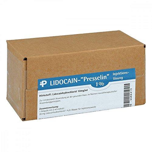 LIDOCAIN Presselin 1% Injektionslösung 50X2 ml