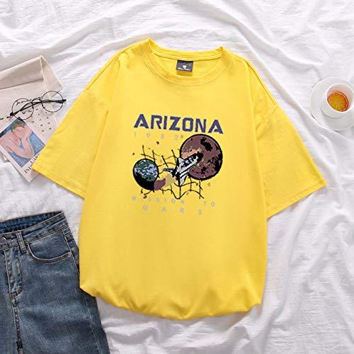 JFCDB T-Shirt d'été,Été Aquarelle Talons Hauts Chaussures Imprimer Vogue Femmes T-Shirts Fun T Shirt Street Tshirt