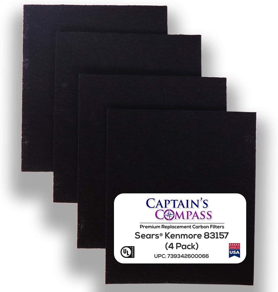 CAPTAIN'S COMPASS - Premium Carbon Kenmore Surprise price for Sears Time sale Pre-Filters