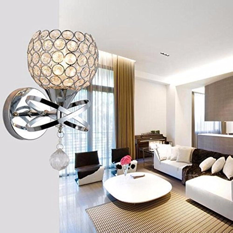 Wandlampe Led - Kristall - Wand Lampe Einfach Moderne Und Kreative Art Lampe Mit Schlafzimmer Wohnzimmer Modeshop Restaurant - Lampen,B