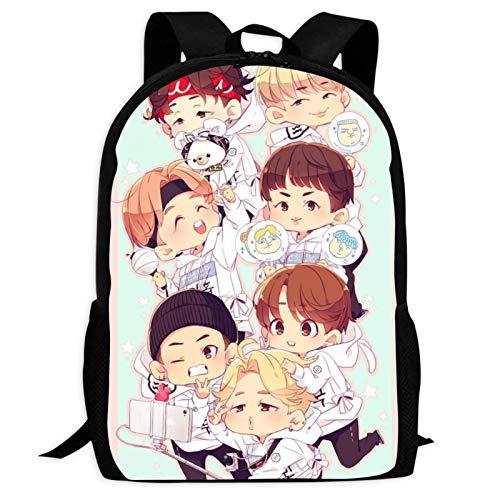 Boy Group B-TS 30 Backpacks Laptop Bag 3D Printing Kids' School Casual Shoulder Bookbags Daybag for Boys Girls