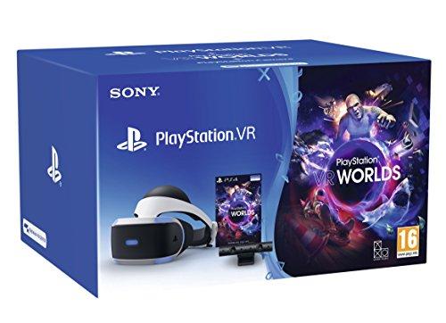 PlayStation VR Starter Pack + VR Worlds + Camera V2