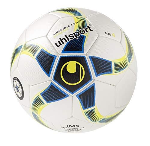 Uhlsport Medusa Stheno Balón Futbol, Unisex, Blanco/Azul Marino, 4 ...