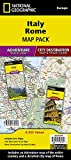 Italy, Rome [Map Pack Bundle] (National Geographic Adventure Map)