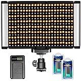 Neewer Dimmerabile Luce Video Kit: Bi-Color 280LED Panel CRI 96+...