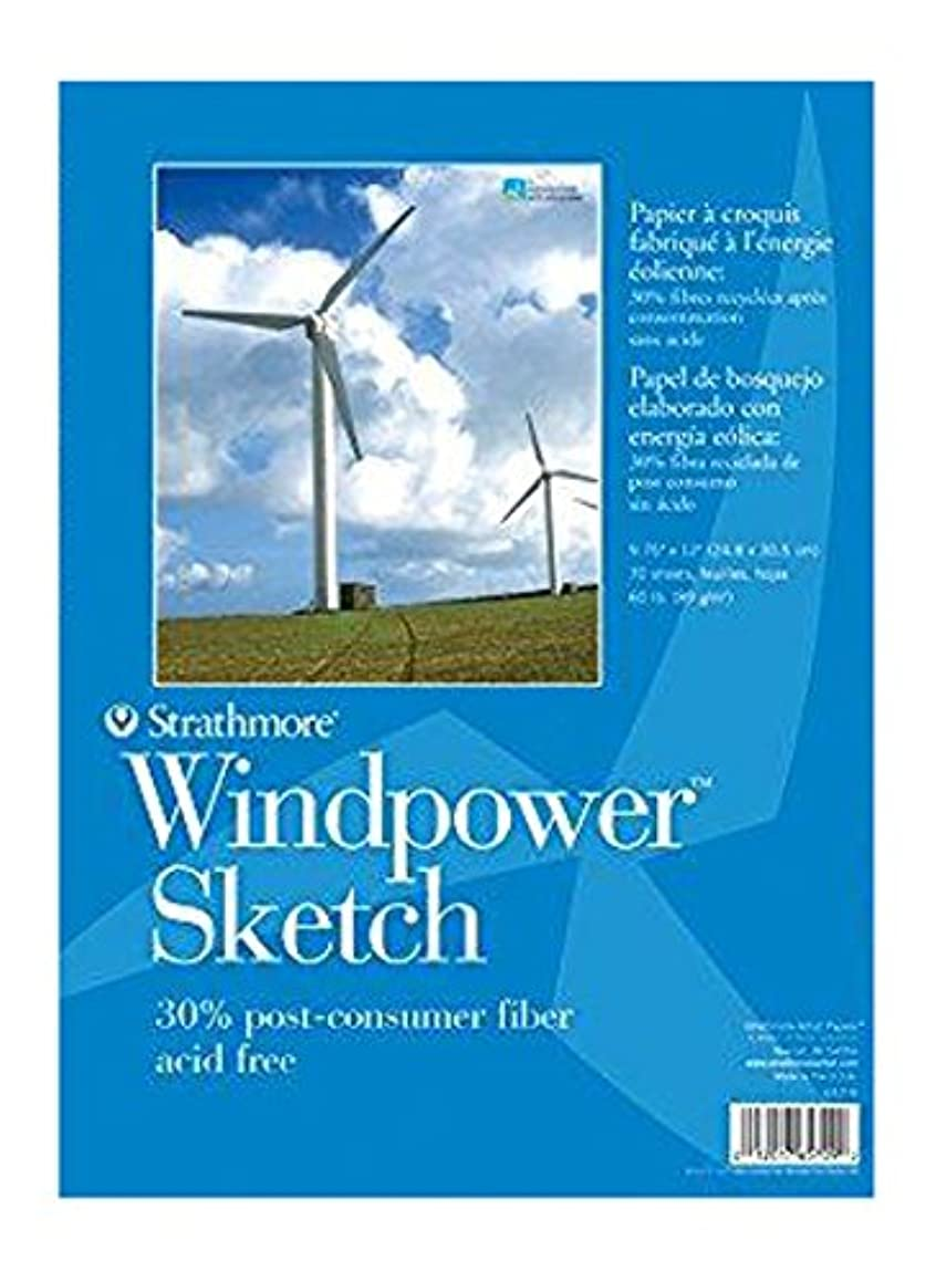 Strathmore 657-9 STR-657-9 No.60 Wind Power Sketch, 9.76