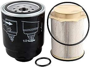 Auto Safety 6.7L Cummins Fuel Filter Water Separator set for Dodge Ram 2500 3500 4500 5500 6.7 Cummins Turbo Diesel Engines 68197867AA 68157291AA