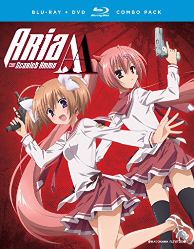 Aria the Scarlet Ammo AA: The Complete Series [Blu-ray]