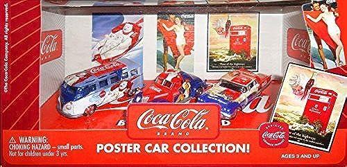 Venta barata Johnny Lightning Coca-Cola Poster Diecast Car Car Car Set 1 64 Scale by Coca-Cola  ofrecemos varias marcas famosas