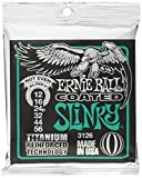 Ernie Ball Coated Electric Titanium RPS Not Even Slinky Set, .012 - .056