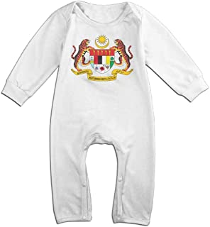 Coat of Arms of Malaysia Fashion Baby Climbing Clothing