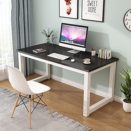 mesa de ordenador Dormitorio Estudiante Estudio Escritorio Escritorio Simple Mesa de escritorio, Escritorio para el hogar Escritorio simple, Marco de metal de oficina para el hogar Computadora de comp