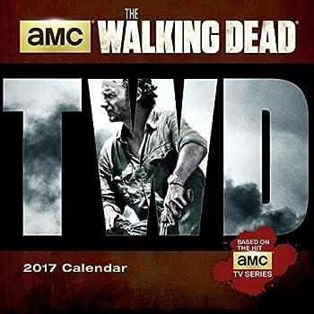 The Walking Dead?? AMC 2017 Mini Calendar by American Movie Channel  2016-06-22