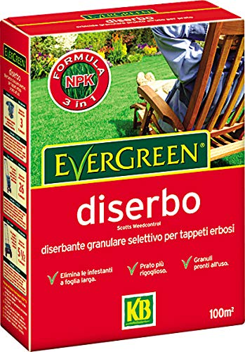 KB Concime Evergreen Diserbo PFnPE, 1kg