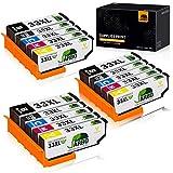 JARBO Compatible pour Epson 33XL 33XL Cartouches d'encre pour Epson Expression Premium XP-530 XP-540 XP-630 XP-635 XP-640 XP-645 XP-830 XP-900, 3 Noire/3 Cyan/3 Magenta/3 Jaune/Noir photo, Pack de 15