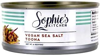 Sophies Kitchen Sea Salt Vegan Toona, 6 Ounce Can - 12 per case.