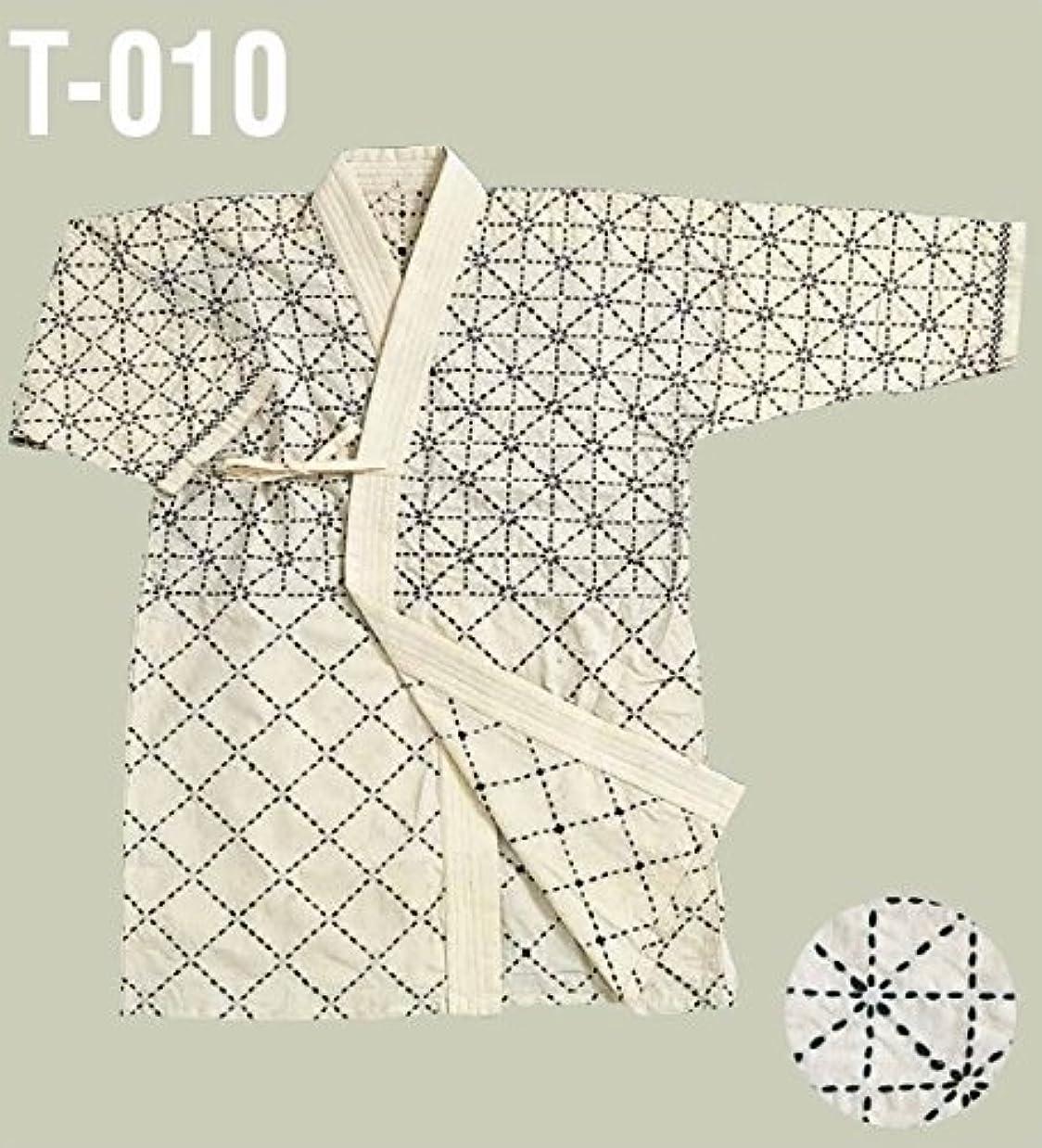 光沢重力イブミツボシ 剣道 剣道衣 白六三四 1サイズ(130~140cm) T-01001
