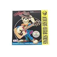 Musiclilyアリスステンレススチールアコースティックギター弦第2B弦(5個入)
