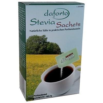 100 Daforto Stevia Sachets