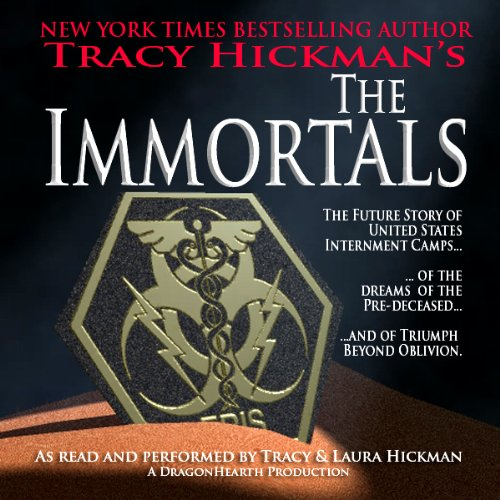 The Immortals audiobook cover art