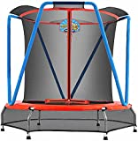 Zupapa Trampoline for Kids with Enclosure Net