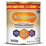 Enfamil Nutramigen Infant Formula, Hypoallergenic and Lactose Free Formula with Enflora LGG, Fast Relief from Severe Crying and Colic, Powder Can, 27.8 Oz