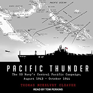 Pacific Thunder audiobook cover art