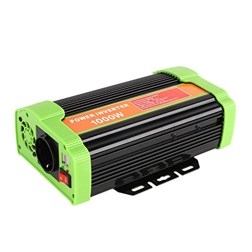 MVPOWER 300/600/1000W Inverter Portabile Invertitore di...
