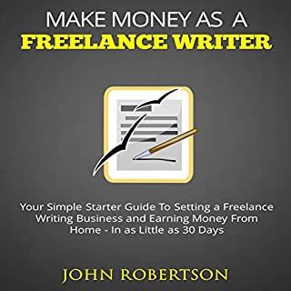 Make Money as a Freelance Writer audiobook cover art